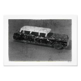 Antique Toy Car Vintage Inspired Automotive Photo Print