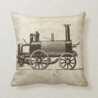 Antique Toy Steam Train Cushion