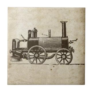 Antique Toy Steam Train Tile