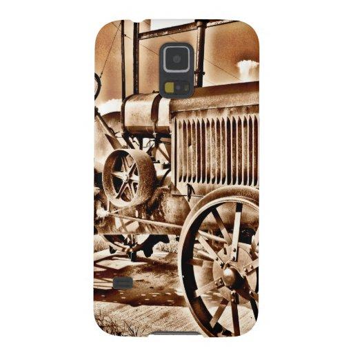 Antique Tractor Farm Equipment Classic Sepia Samsung Galaxy Nexus Case