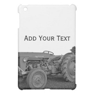 Antique Tractor in Black and White  Case For The iPad Mini
