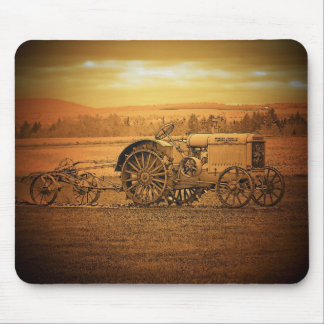 Antique Tractor Mouse Mat