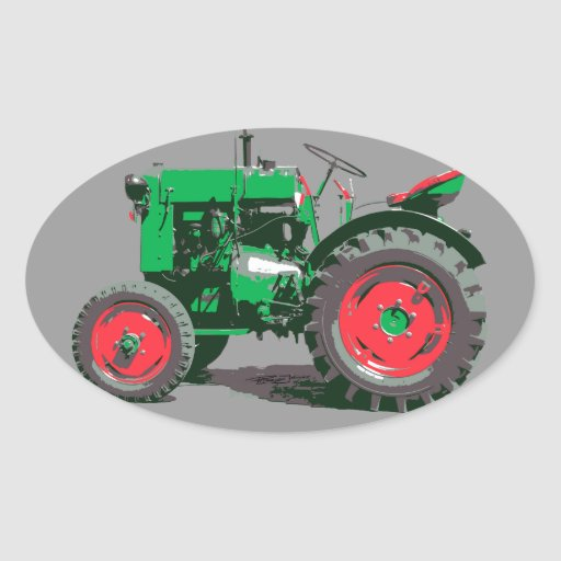 ANTIQUE TRACTOR STICKERS