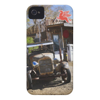 Antique truck at general store in the American iPhone 4 Covers