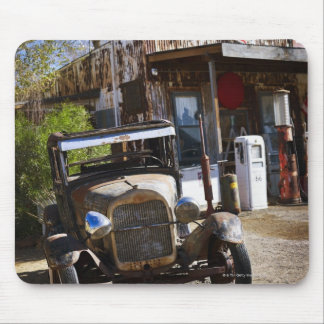 Antique truck at general store in the American Mouse Pad