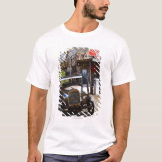 Antique truck at general store in the American T-Shirt