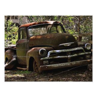 Antique Truck Photographic Print