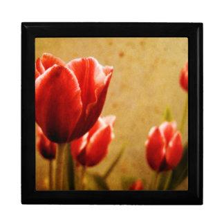Antique Tulips Gift Box