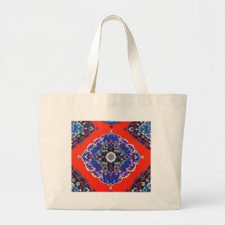 Antique Turkish Textiles Carpets Rugs Kilims Jumbo Tote Bag