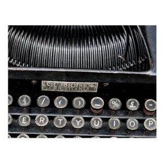 Antique Typewriter 2 Postcard