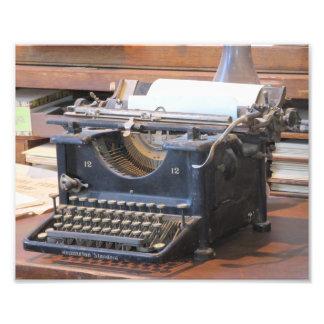 Antique Typewriter Art Photo