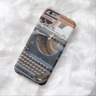 Antique Typewriter Barely There iPhone 6 Case