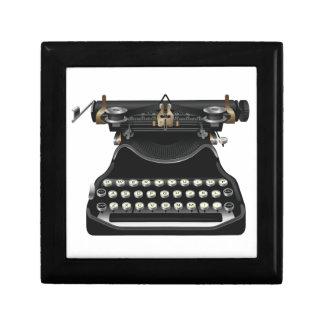 Antique Typewriter Keepsake Boxes