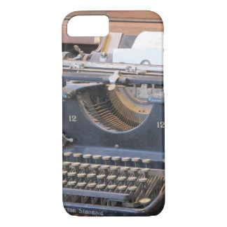 Antique Typewriter iPhone 7 Case