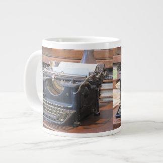 Antique Typewriter Large Coffee Mug