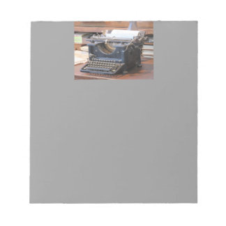 Antique Typewriter Notepad