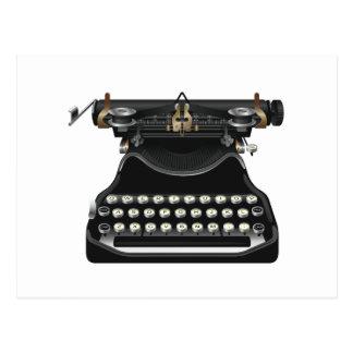 Antique Typewriter Post Cards