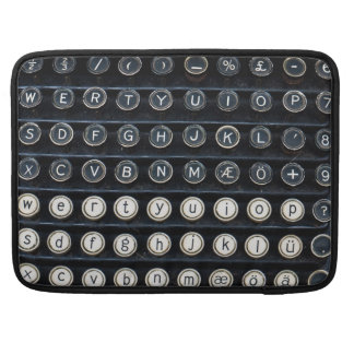 Antique Typewriter Sleeve For MacBooks