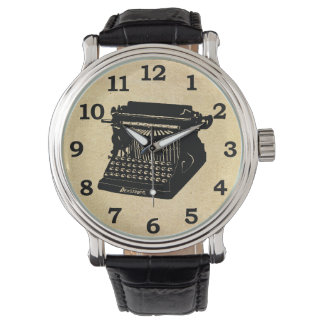 Antique Typewriter Vintage Picture Watch