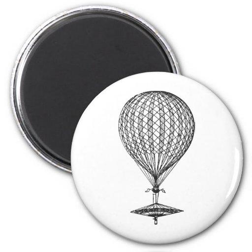 Antique UFO Balloon 1 Refrigerator Magnet