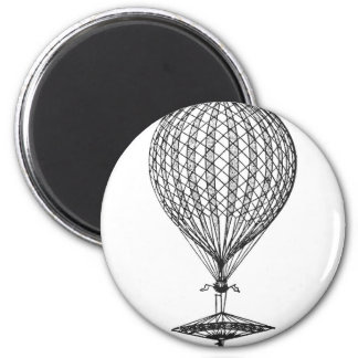 Antique UFO Balloon 1 Magnet