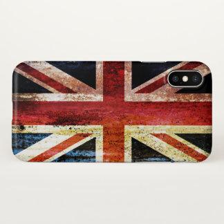Antique Union Jack iPhone X Case