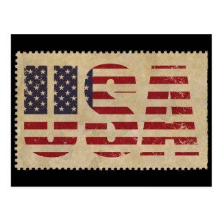 Antique USA Stamp Postcard