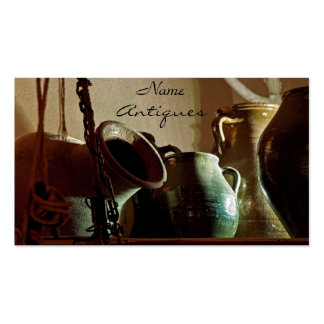 Antique Vases and Jars Business Card