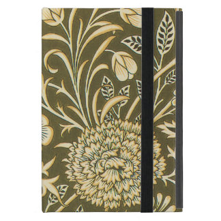 Antique Victorian William Morris Garden Flowers iPad Mini Case