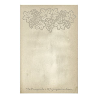 Antique Vineyard Stationery Paper