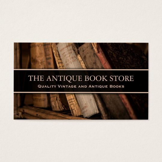 Antique / Vintage Book Store Photo - Business