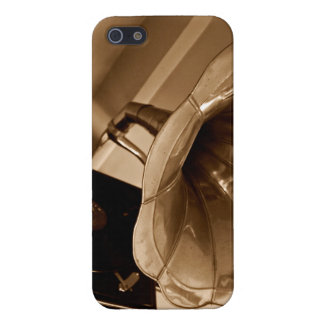 Antique Vintage Gramophone Gifts Music Lovers iPhone 5/5S Cases
