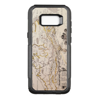 Antique Vintage Map of Canada Circa 1655 OtterBox Commuter Samsung Galaxy S8+ Case