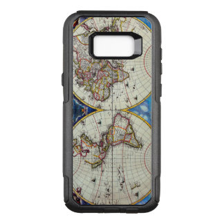 Antique Vintage Map of the Known World Circa 1630. OtterBox Commuter Samsung Galaxy S8+ Case