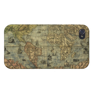 Antique Vintage Old World Map iPhone 4 Savvy Case iPhone 4 Case