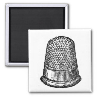 Antique Vintage Thimble 1880's Fridge Magnet