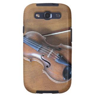 Antique Violin Galaxy SIII Case