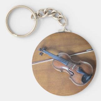 Antique Violin Key Chain