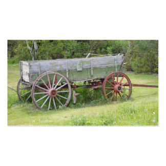 Antique Wagon Pack Of Standard Business Cards