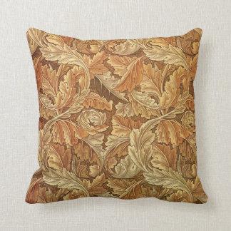Antique Wallpaper Leaves - Acanthus Pillows