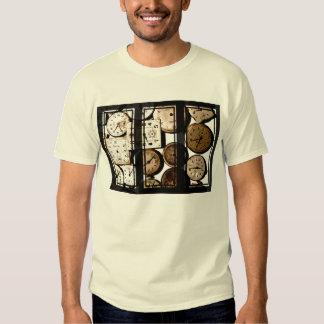 Antique Watch Face Triptych Art T-Shirt