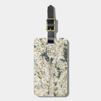 Antique Watercolor Coral Luggage Tag