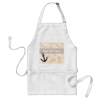 Antique White Camo; Anchor Standard Apron