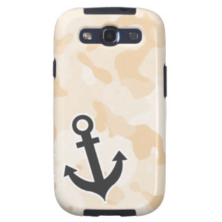 Antique White Camo; Anchor Galaxy SIII Covers