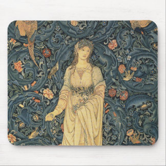 Antique William Morris Flora Mouse Mat