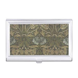 Antique William Morris Victorian Floral Flowers Business Card Holder