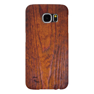 Antique Wood Grain Photo Samsung Galaxy S6 Cases