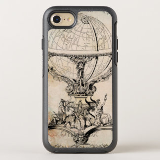 Antique World Globe Map Print OtterBox Symmetry iPhone 8/7 Case