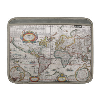 "Antique World Map 13"" MacBook sleeve"