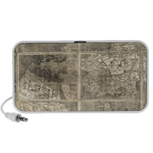 Antique World Map 1507 Mp3 Speaker
